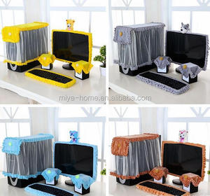 2016 Hot New Stylish Washable Family Full Set Computer Dust Cover / computer cover set