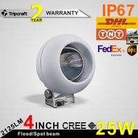 4 Inch 25W Factory Wholesale LED Work Light, Auto Led Work Light For Offroad, Tractor, Truck, UTV, ATV