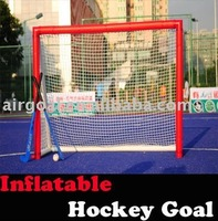Bauer Hockey Stick(6*4 INFLATABLE HOCKEY GOAL)