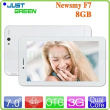 Dual SIM phone call 7.0 inch IPS Newsmy F7 Android4.1 dual core CPU 1.2GHz 1GB/8GB OTG/FM/WiFi/GPS Multi-language tablet PC