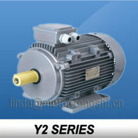 Y2 Series New Design AC motor ,UL,CSA,CE,MEPS,CCC,ISO9001 approval