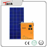 300W 500W off-grid complete solar system portable solar power generator for home use