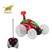4 channel remote control stunt car rc 360 degree front spinning toy car with light