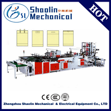 Quality warranty pp woven bag making machine with best service