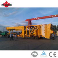 Mobile Batching Asphalt Plant