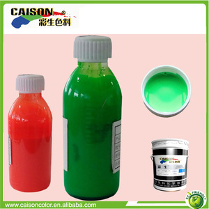 complete chromatogram multipurpose fluorescent pigment colors for stain