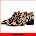 new fashion women leopard oxford shoes