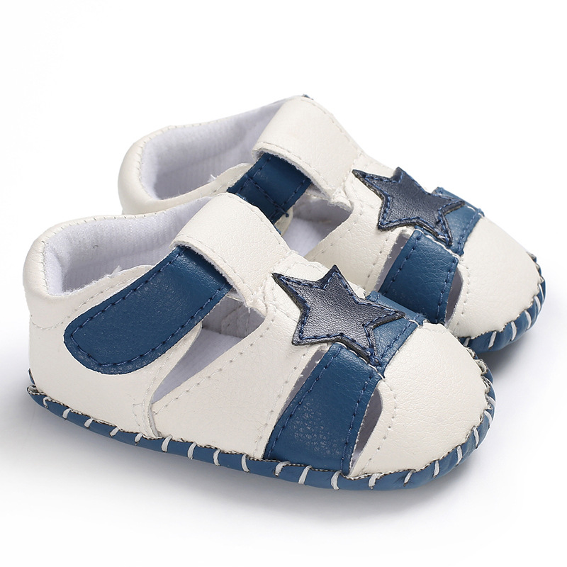 wholesale cartoon soft bottom Baotou infant non-slip baby Sandals garden shoes