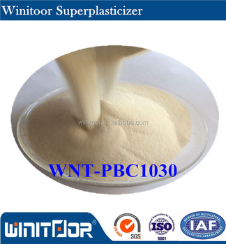 Water reducing agent Polycarboxylate based superplasticizer WT-PBC1016