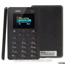 M5 credit Card Mobile Phone Mini Original Phone Ultra Thin Student Version M5 Cell Phones