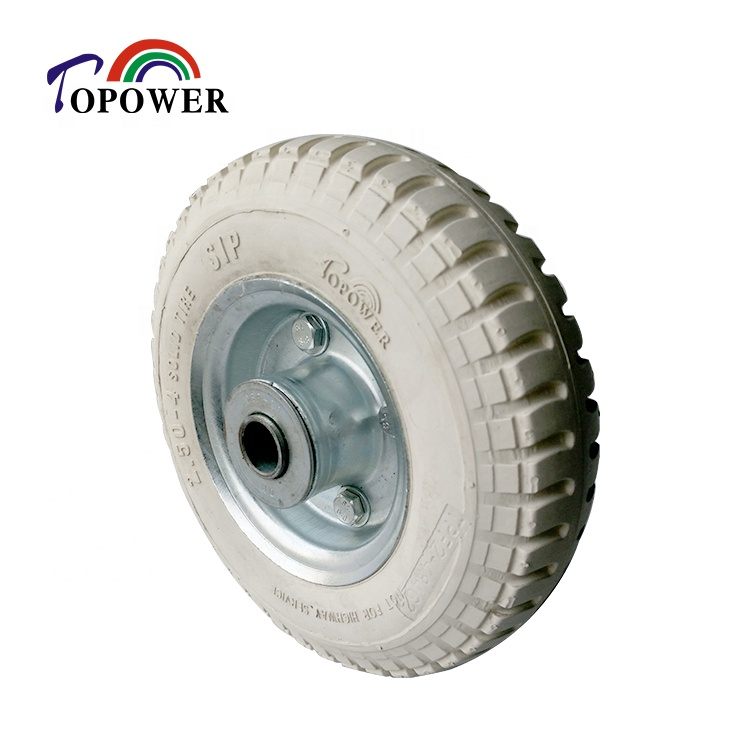 Trolley pneumatic wheel <strong>tire</strong> 2.50-4 for wheelbarrow