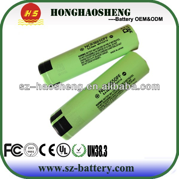 li-ion 3.7v rechargeable battery CGR18650CG 2250mah