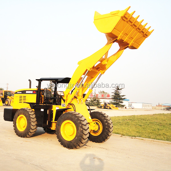 Brand new 3 ton SHANMON 836 wheel loader for sale