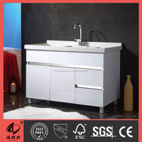 2016 new arrival laundry stainless steel bathroom cabinet T-00103