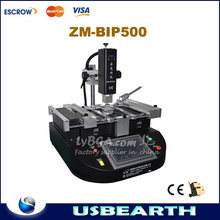ZM BIP500 Infrared & Hot Air BGA rework station repair system bga chips reballing machine