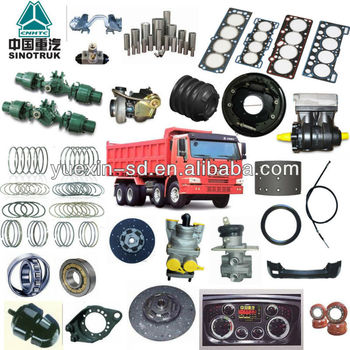all parts for howo truck parts for all truck models