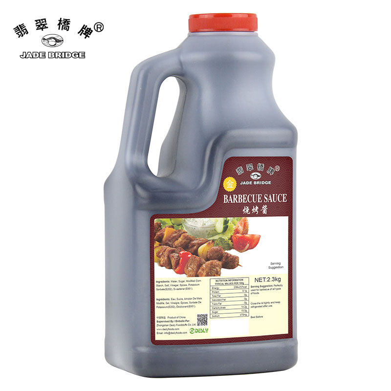 Chinese Brand High Quality Desly BBQ Sauce 2.3kg