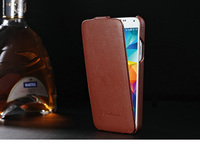 China alibaba mobile phone accessory of latest design genuine leather phone case cover for samsung galaxy S5
