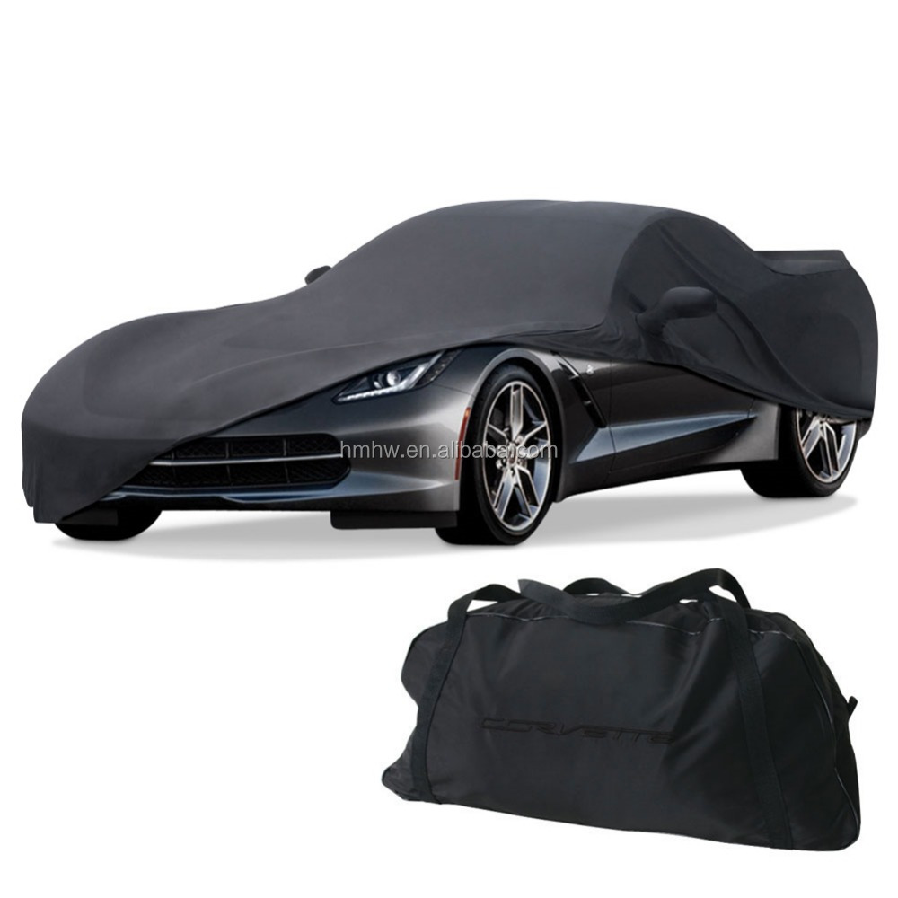 Satin Polyester Soft Stretch Indoor Auto Car Cover