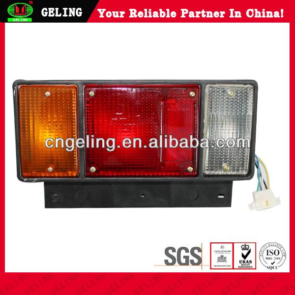 ELF NPR NKR NHR NLR Truck Rear Tail Light (Universal Used with Wire Set + 24V Bulb) For ISUZU
