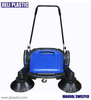 No Battery 40L container Manual Street Sweeper