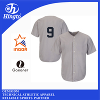 2016 new design OEM baseball sportswear