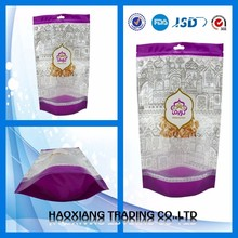 High Level Customized Logo customized food packing bag Stand up pouch with zipper stand up zipper bag for freeze fruit