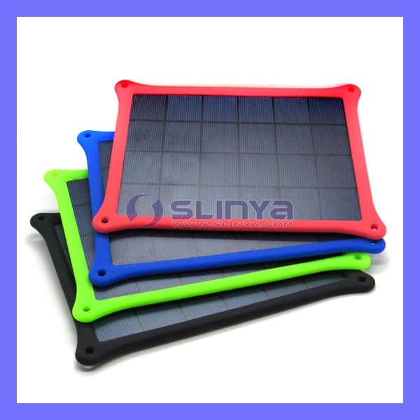 Colorful 5W Mobile Solar Panel Charger For iPhone iPad
