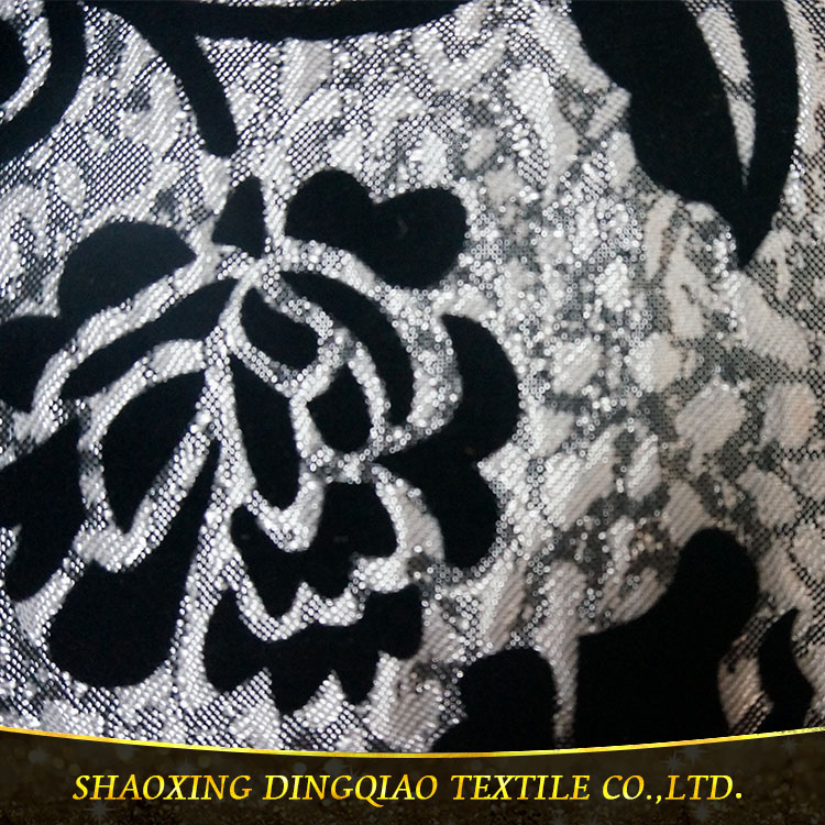 latest design cheap textile flock waterproof sofa fabric