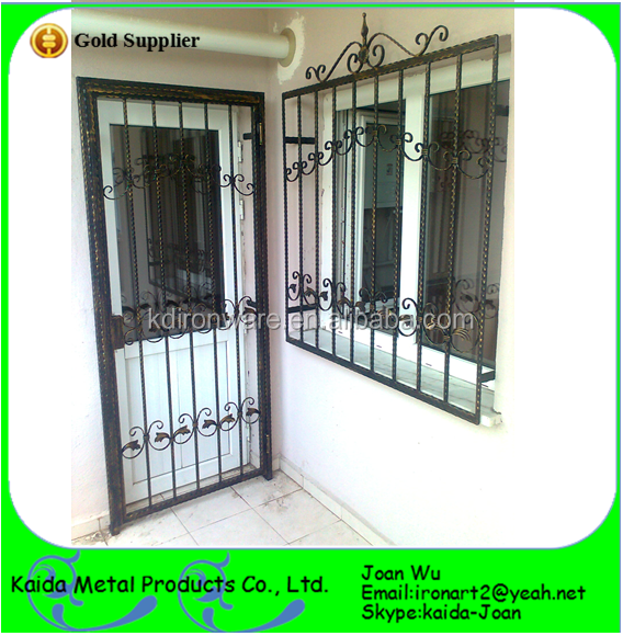 Modern iron window grill design for home buy iron window for Window design ms