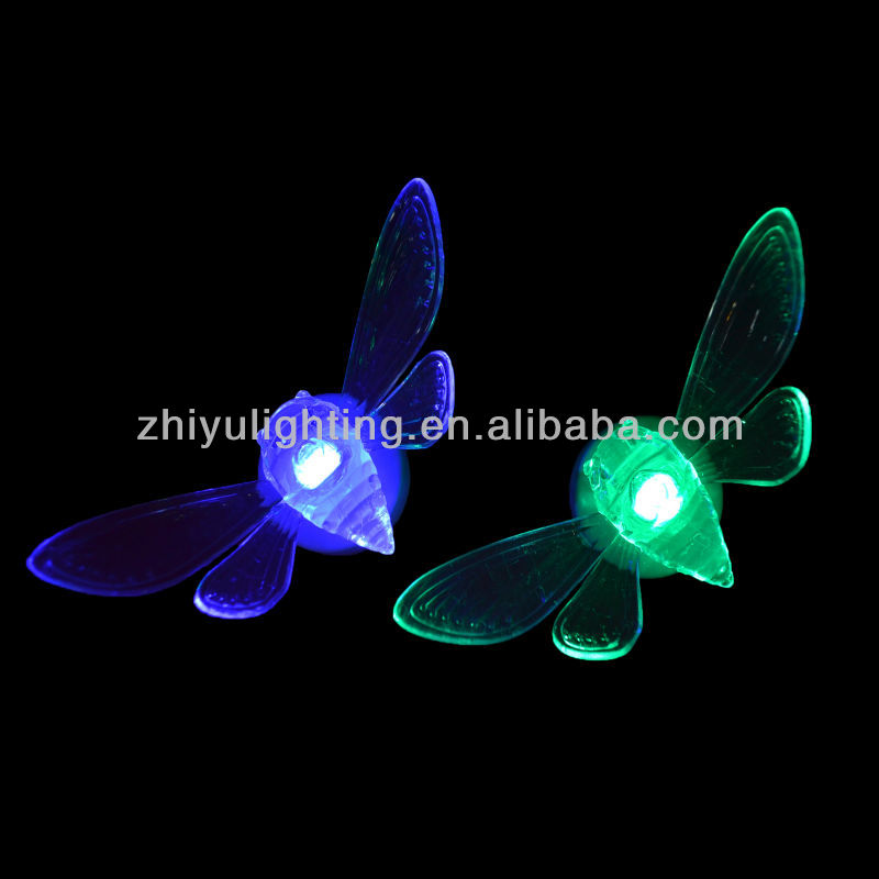 Light up led toys,LED magic cicada light,portable luminaire led lamp