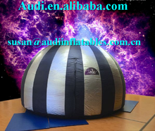 mobile digital planetarium inflatable Mini Cinemas dome ,Projection inflatable dome for indoor use