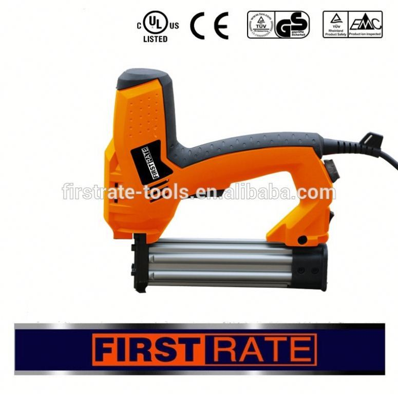 handheld electric brad staple gun nail gun pins