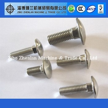 Galvanized Carriage Bolt/Coach Bolt M12, M16, M20