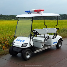 4 seat police golf cart with 3KW motor and suitable price for sale