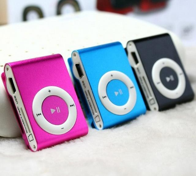 DHL free MINI Flash Gift clip MP3 <strong>Player</strong> with Clip control 8 color support Micro (TF) card slim mp3 <strong>players</strong>