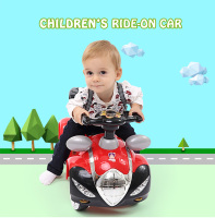 Raceway Lights And Sounds Girl Toddler Toy Ride-On Car