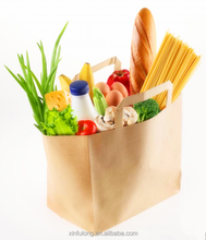 wholesale quality grocery kraft paper bags
