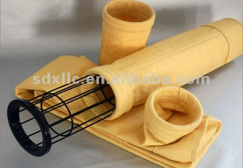 P84/PI fiber needle felt/filte material/filter bag/filter sock/filter hose for dust collecting clean air