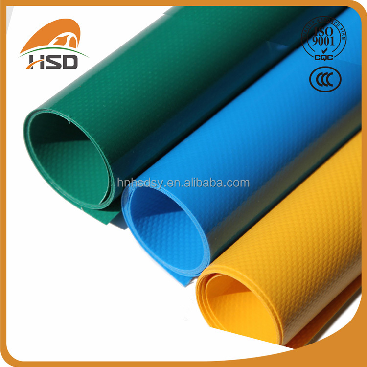 PVC coated polyester fabric high quality tarpaulin