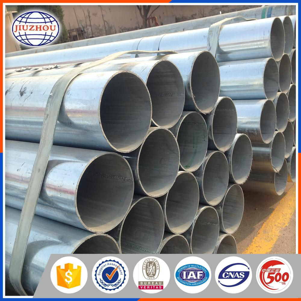 Bs1387 Standard Galvanized Steel Pipe For Irrigation