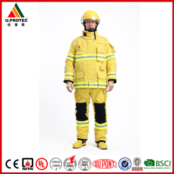 High Quality NFPA1971 Structural Firefighter Uniform