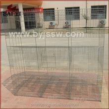 China Cheap Large Metal Baby And Mother Rabbit Cage And 3 Story Rabbit Hutches(H type ,alibaba supplier,Made in China)