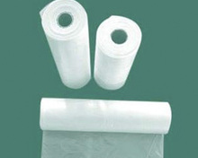 HDPE flat plastic bags for food packing bags on roll