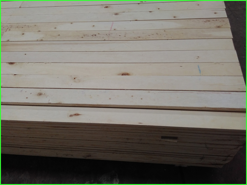 Wooden pallet material poplar LVL slat for making pallet