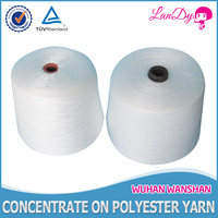 40/2 optical white Polyester sewing Thread with high quality,high tenacity, chemical resistance