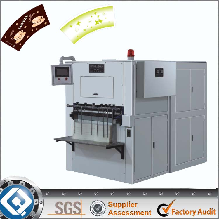 QC-750 Automatic used die cutting machine cnc punching machine price