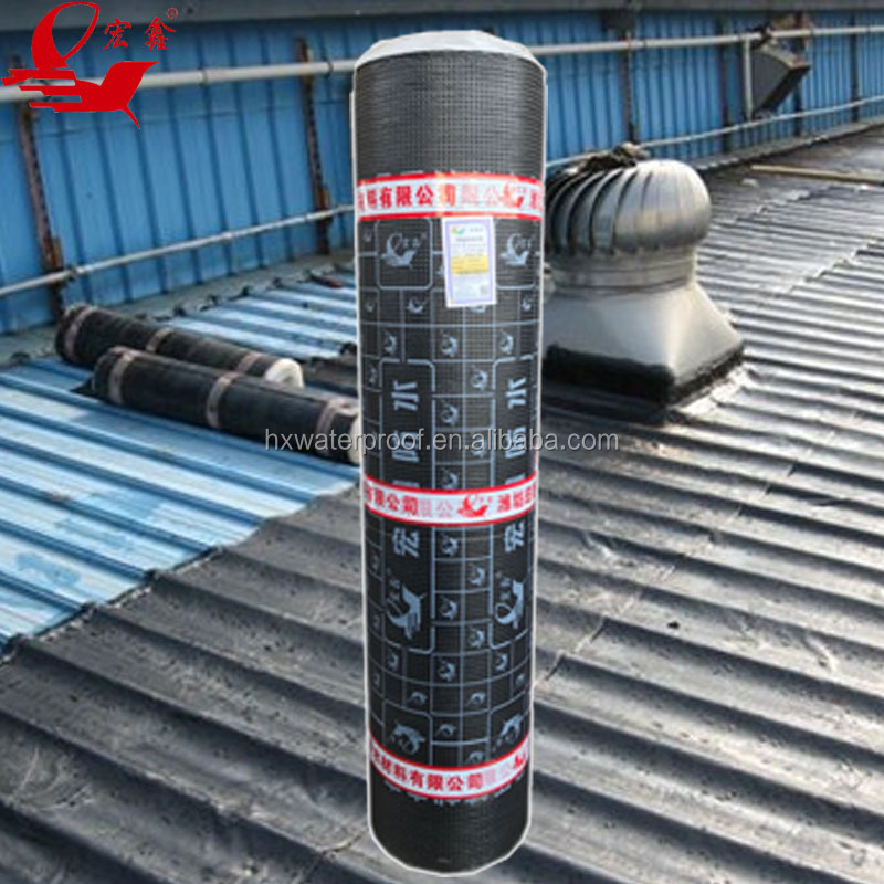 self-adhesive Bitumen waterproof membrane for construction