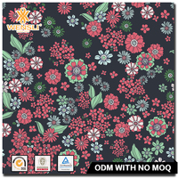 Hangzhou Wensli Screen printing Custom New Design Chinese Suppliers 100 pure Silk Organza Velvet Fabric
