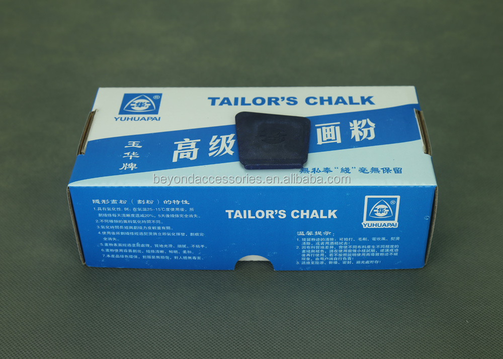 2017 Hot selling blue disappearing Tailor Chalk for garment